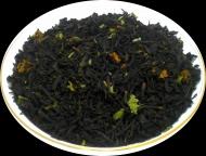 Чай черный Клубника со сливками, 500 г, фольгированный пакет, крупнолистовой ароматизированный чай, купить чай