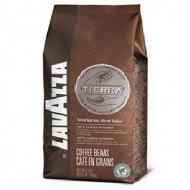 Кофе в зернах Lavazza Tierra (Лавацца Тиера), кофе в зернах (1кг), вакуумная упаковка