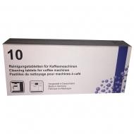 Таблетки для удаления кофейных масел (гидросистема), 10 табл., коробка